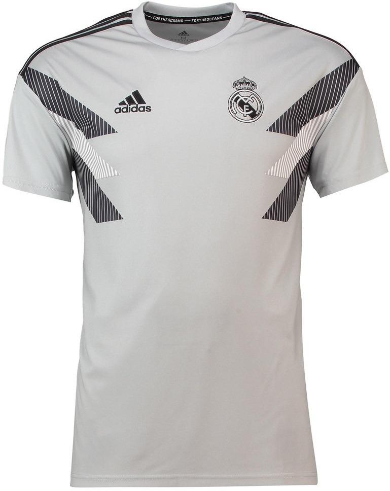 416612c922 camisa real madrid - pré jogo - 2018   2019 - frete grátis. Carregando zoom.