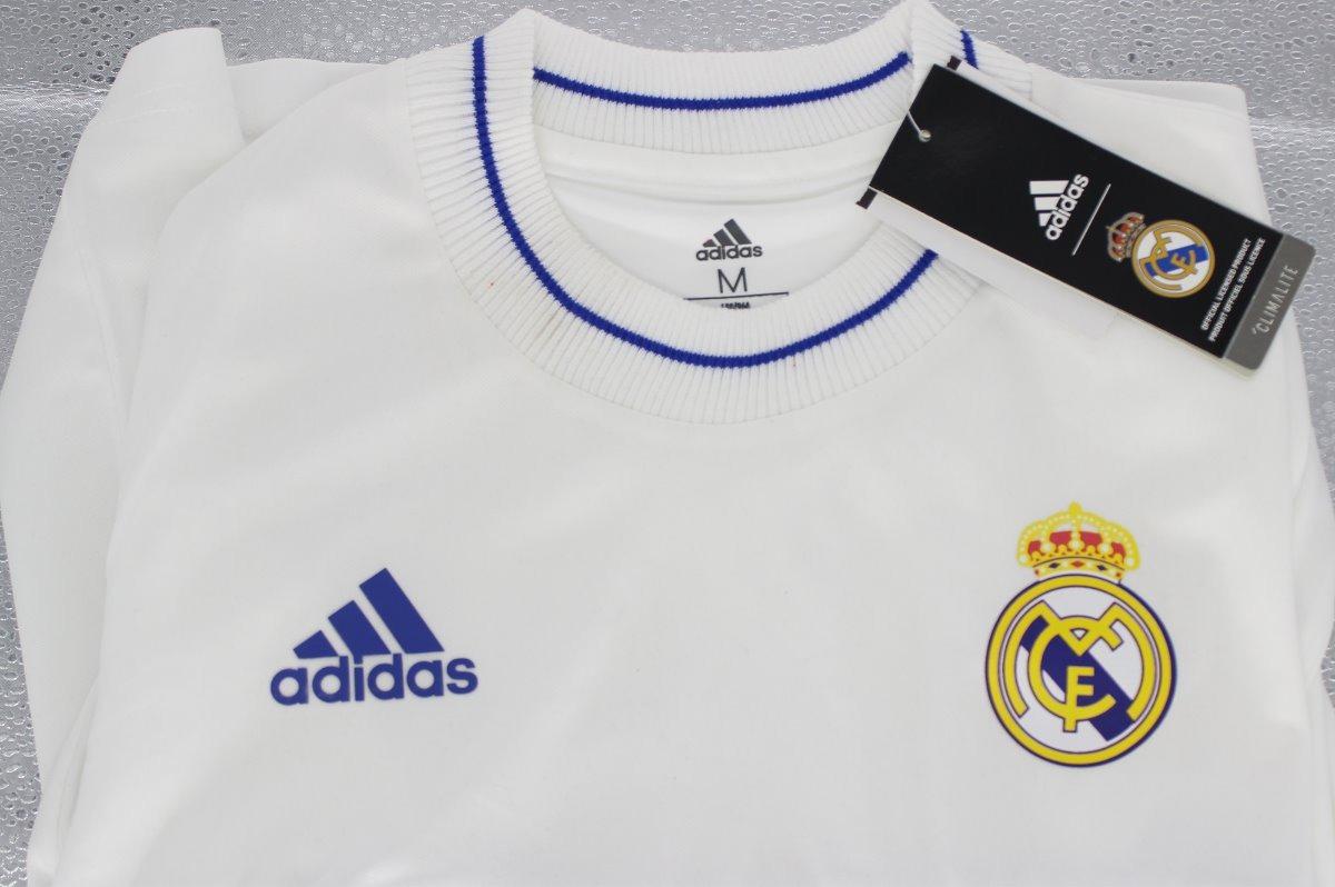 buy popular 4b593 60e69 Camisa Real Madrid Retro adidas - Linha Icon Torcedor