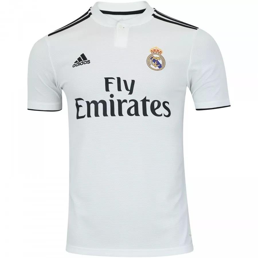 ff9de605 Camisa Real Madrid Uniforme 2 2018/2019 Frete Grátis - R$ 149,90 em ...