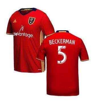 good fff75 a6a04 Camisa Real Salt Lake City Home 2017 Beckerman #5