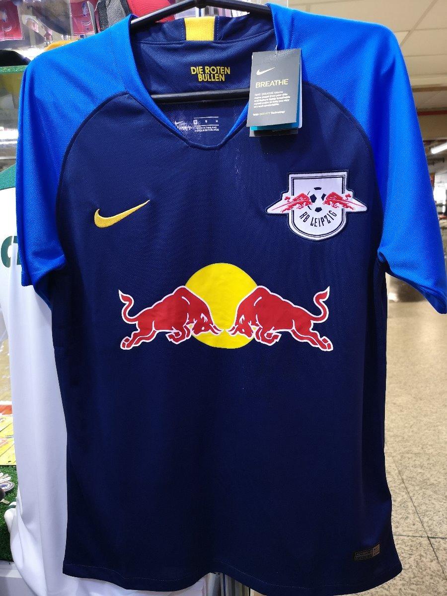fdbe6bf70d69f Camisa Red Bull Leipzig 2018-2019 Nova Pronta Entrega - R  135