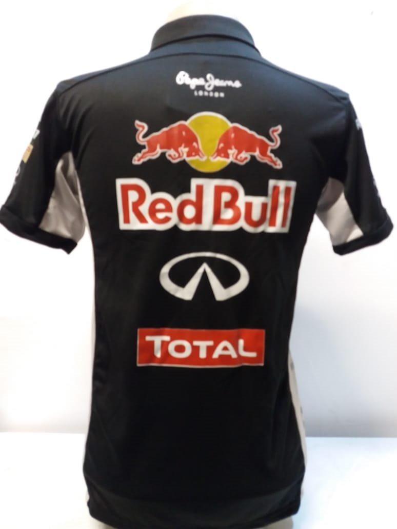 camisa red bull polo preta. Carregando zoom. d6c7c348c93