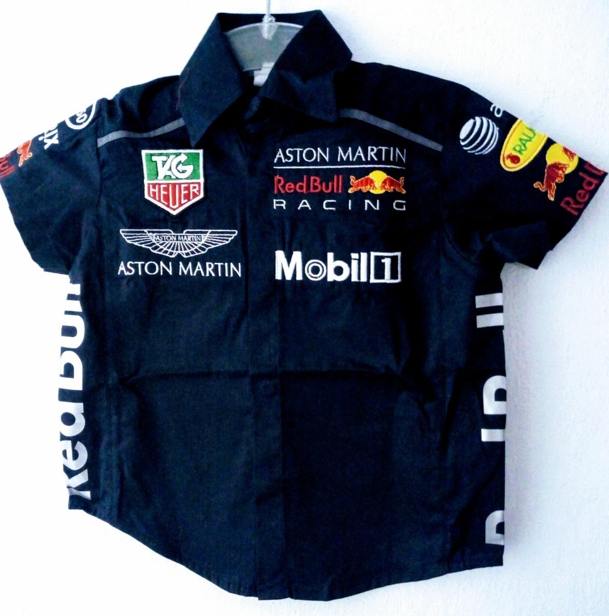 Camisa Red Bull Racing Mobil Esso Aston Martin Niño -   450.00 en ... dc44ad23b75