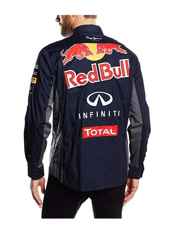 Camisa Red Bull Racing Pepe Jeans Oficial Escudería F1 -   6.190 b339c18e8c1