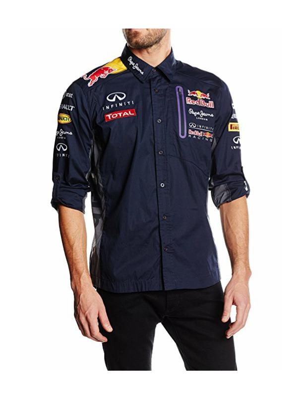 camisa red bull racing pepe jeans oficial escudería f1. Cargando zoom. 487f7697e70