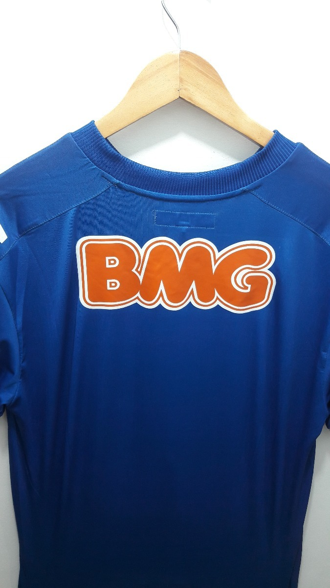 ... camisa reebok cruzeiro home 2011 novo e original sem número. Carregando  zoom. 4bad8a29af9cd