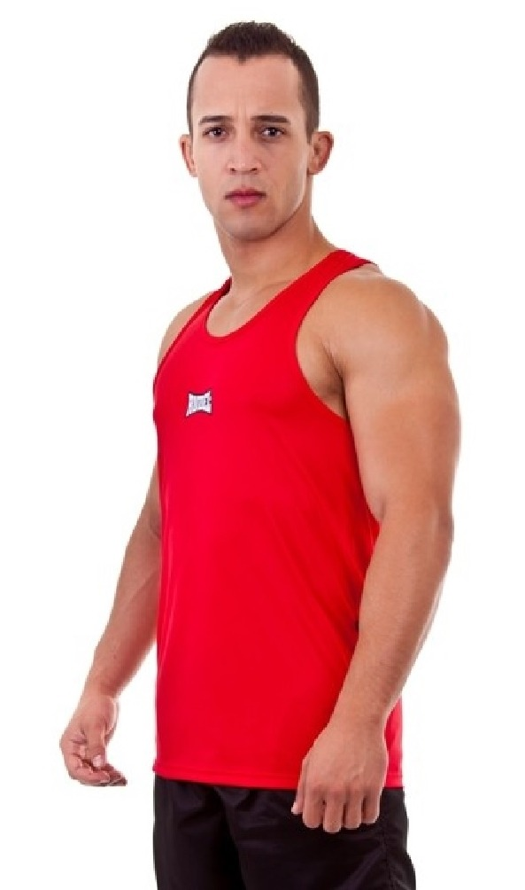 Camisa Regata Academia Fighter Vermelha Rudel  tamanhos  - R  120 37722b6d1d0