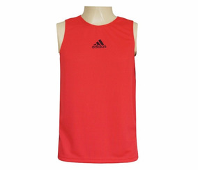 358574db18 Camisa Regata adidas Dry Fit Vermelha