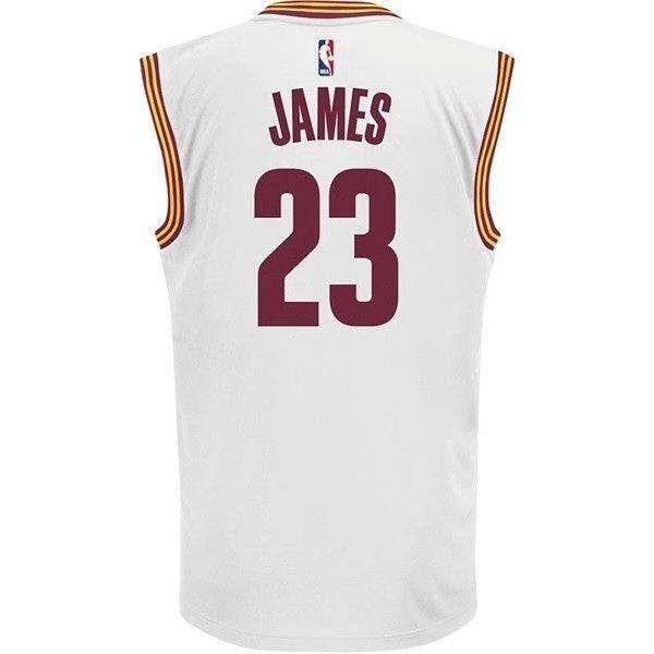 ad9a54464 Camisa Regata adidas Nba Cleveland Cavaliers Lebron James 23 - R ...