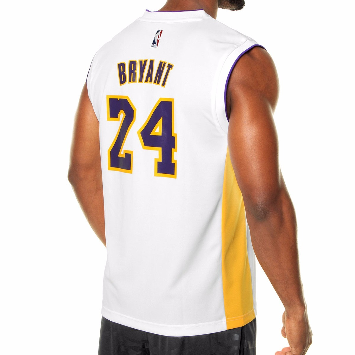 camisa regata adidas nba los angeles lakers 24 kobe bryant g. Carregando  zoom. 96a1b563493