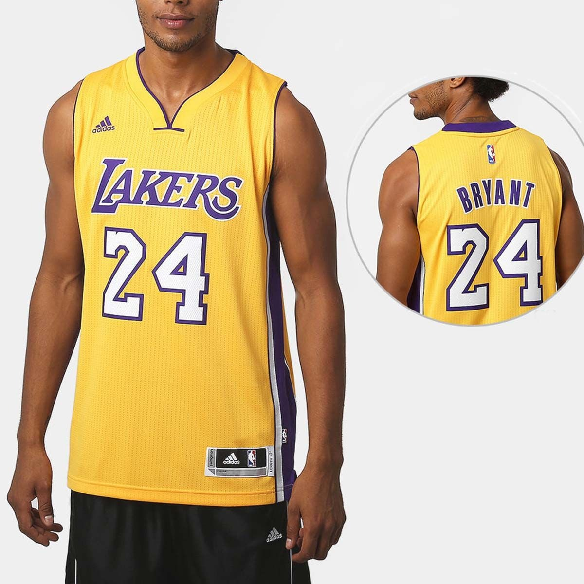 48a8c915b camisa regata adidas nba swingman los angeles lakers orig+nf. Carregando  zoom.