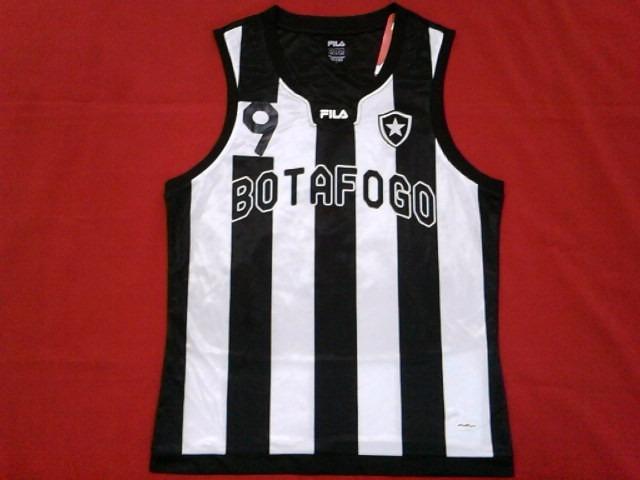 2d478fb5bdf9c Camisa Regata Botafogo Oficial Fila Volei Basquete 2011 2012 - R  59 ...