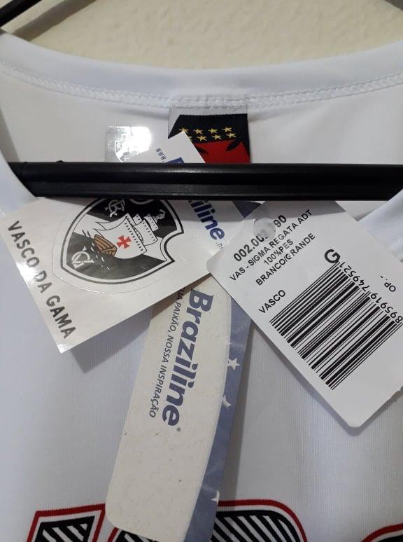 ddc2c44cb6 Camisa Regata Brasiline Vasco Da Gama Sigma - R  39