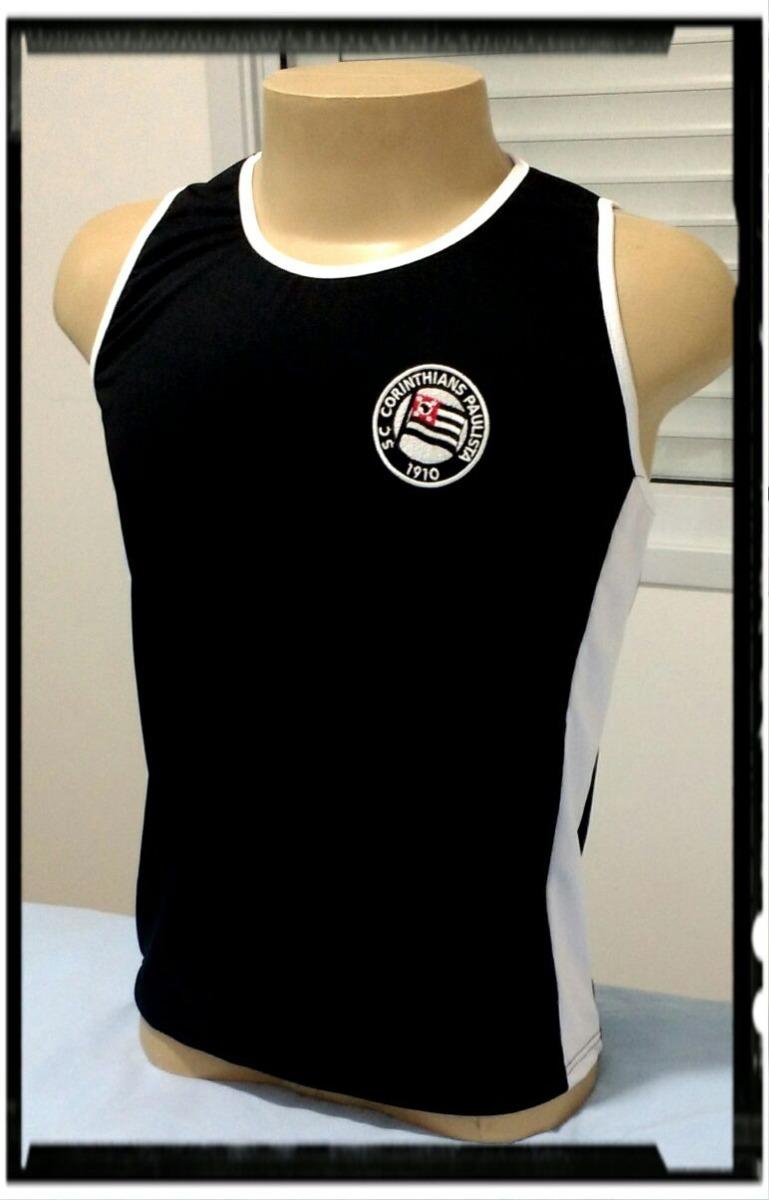 Camisa Regata Corinthians Retro Black - Tam P M   G - R  49 095a1d3112ce5