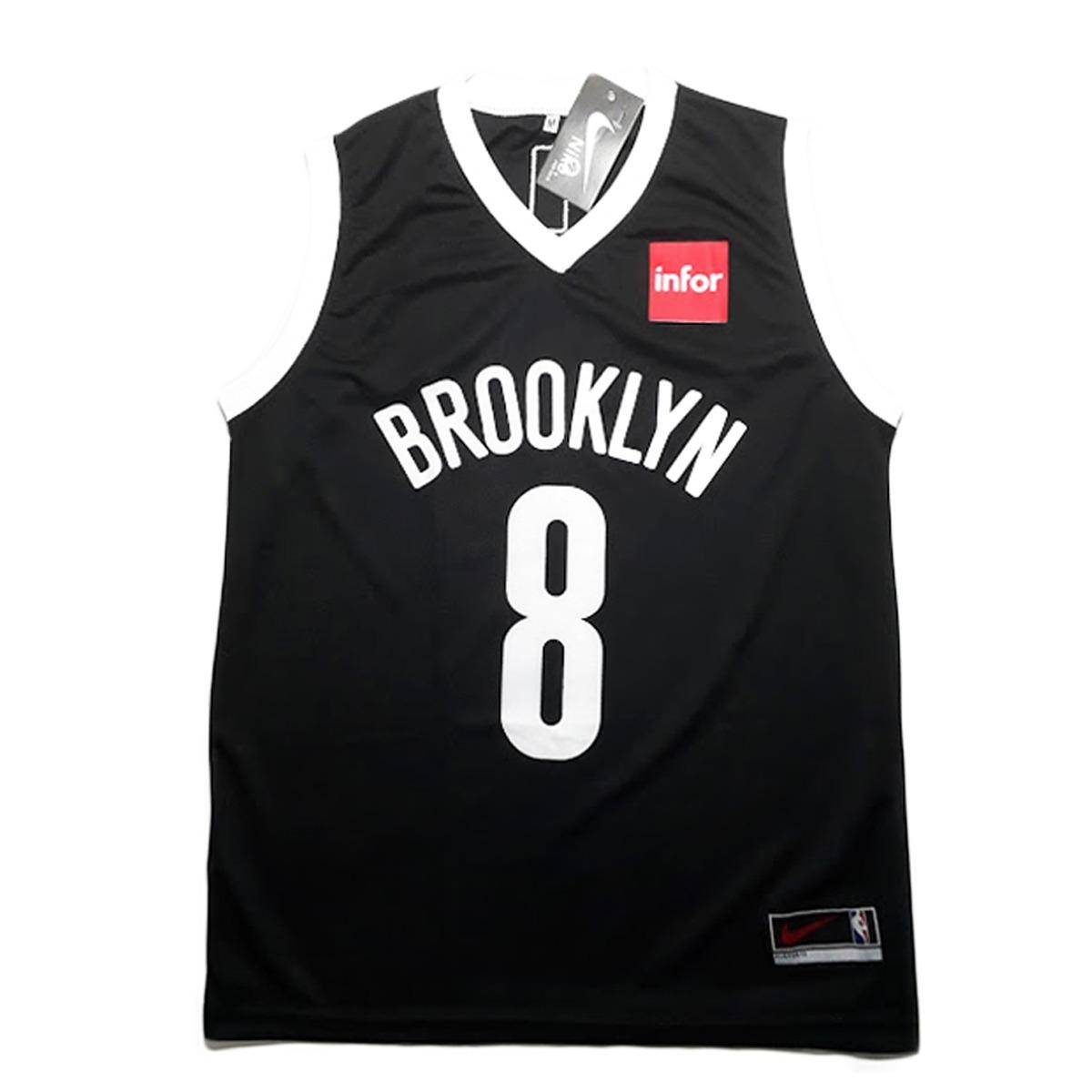 429be1040aca0 Camisa Regata De Basquete Brooklyn Nets Nba - R  38