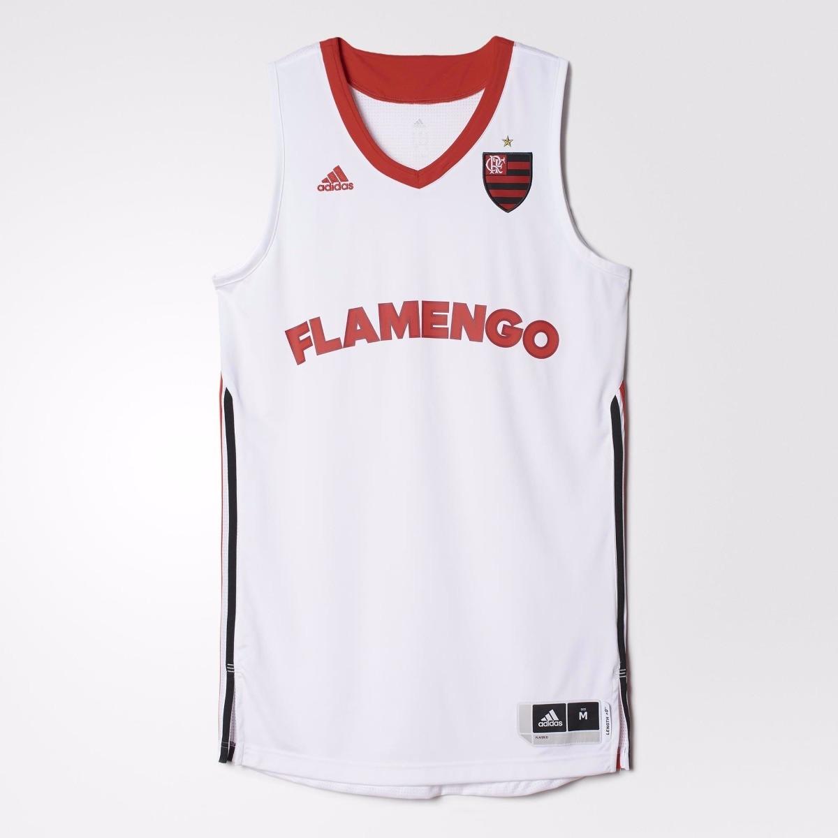 0a9c42b46f71b camisa regata flamengo basquete original adidas - footlet. Carregando zoom.