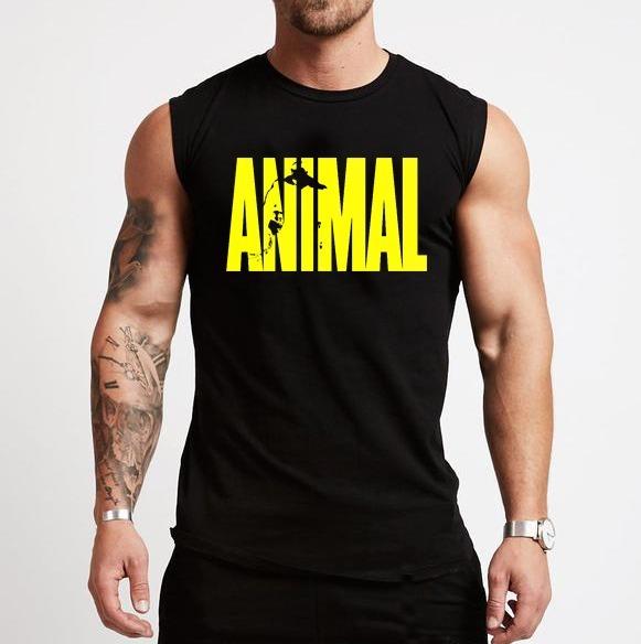 607a235928c06 Camisa Regata Machão Academia Animal Treino - R  39