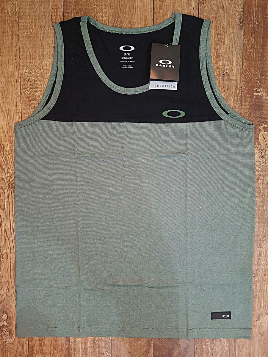 camisa regata oakley masculina original regular -fit premium. Carregando  zoom. 7c79365e590