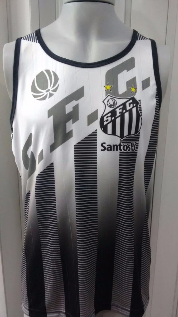 1d36f4496a Camisa Regata Santos Poliéster Até O Tamanho Xxxg - R  65