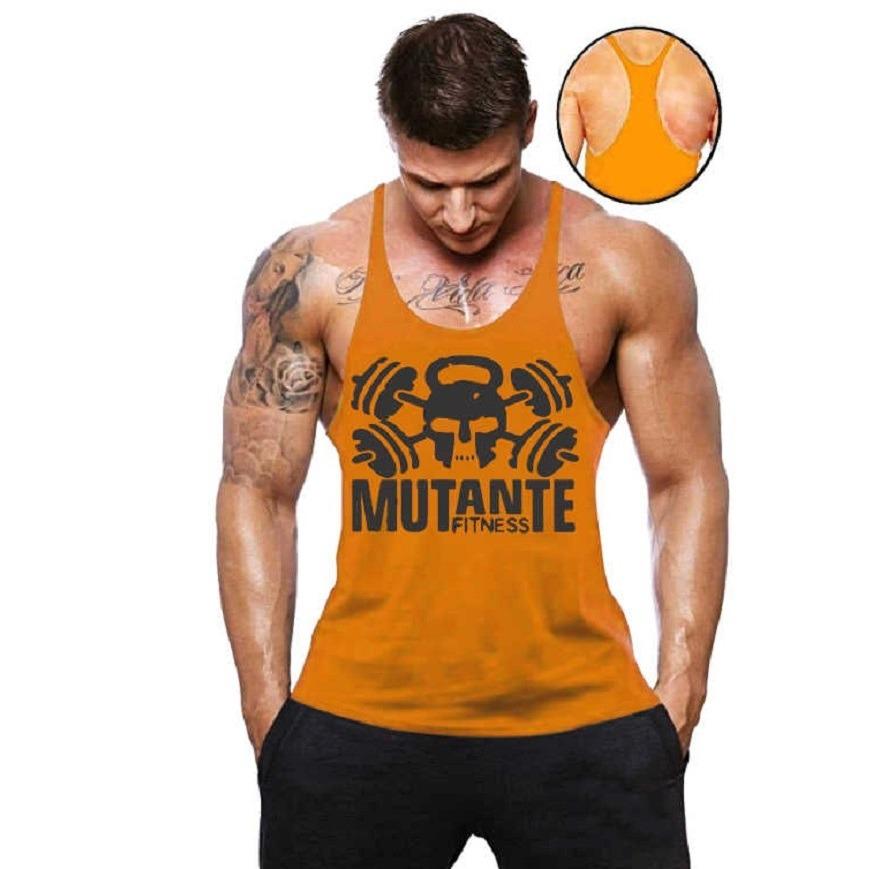camisa regata super cavada academia masculina malha blusa. Carregando zoom. aacc5044e144f