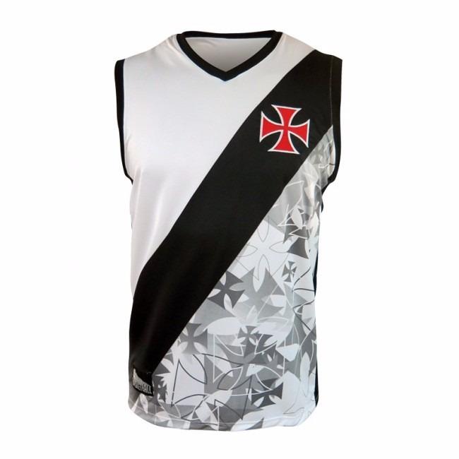 6846eb47ae398 Camisa Regata Vasco Oficial Basquete Machao - R  84