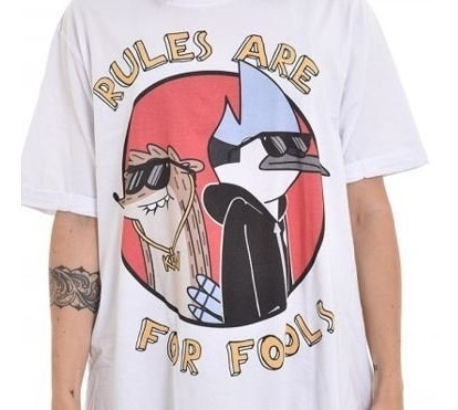 camisa regular show - cartoon - apenas um show