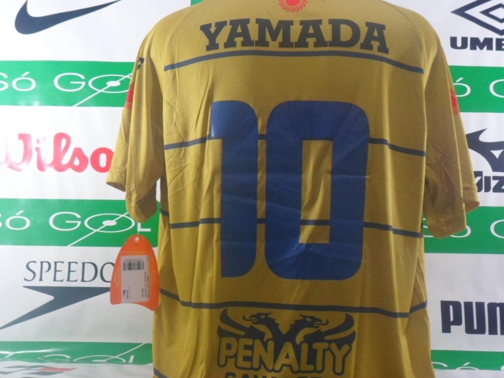 adfffd6d67 camisa remo penalty oficial dourada uniforme 3 pronta entreg. Carregando  zoom.