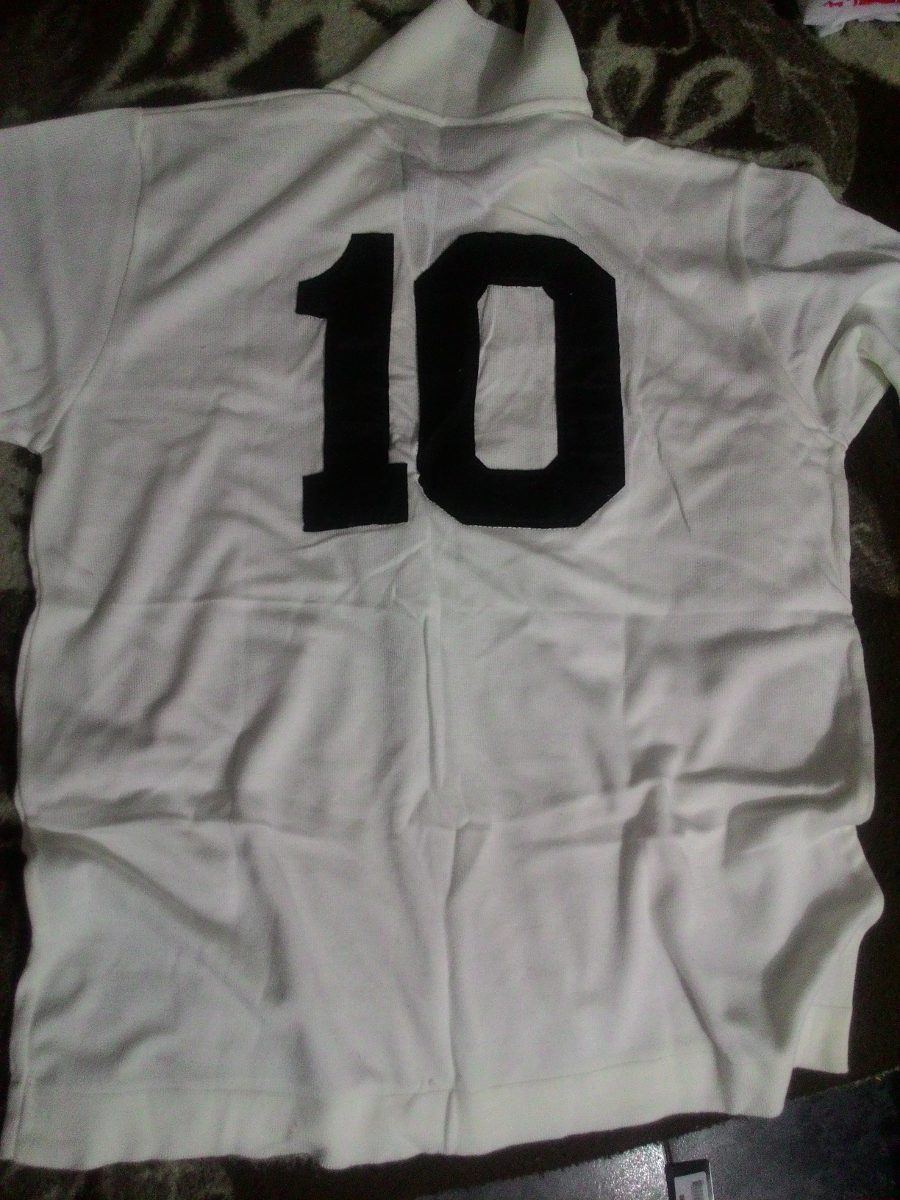 camisa réplica do 1º gol de pelé - santos fc. Carregando zoom. a3d866f662d57