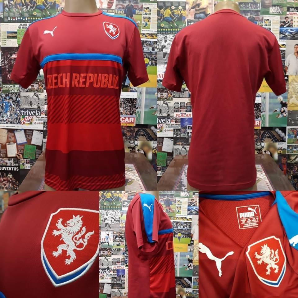 491b104421c36 camisa república tcheca - puma - g - s nº. Carregando zoom.