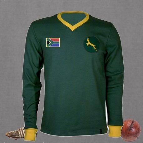 Camisa Retrô Africa Do Sul. - R  129 fb48010e13d65