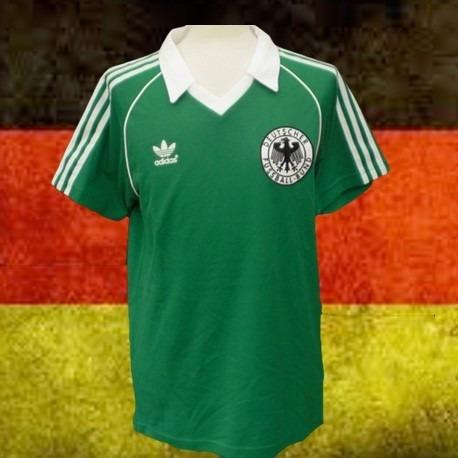 44469db386 Camisa Retrô Alemanha Verde -1982 - R  99