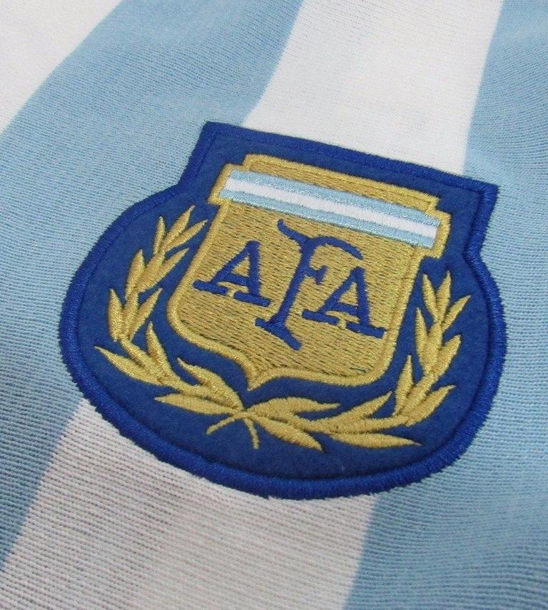 camisa retrô argentina 1986 home manga longa. Carregando zoom. 2859181a57404