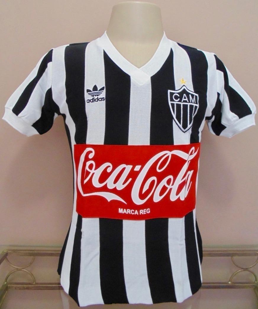 9e537fbf9 camisa retrô atlético mineiro 1986 coca-cola- tecido retrô ! Carregando  zoom.
