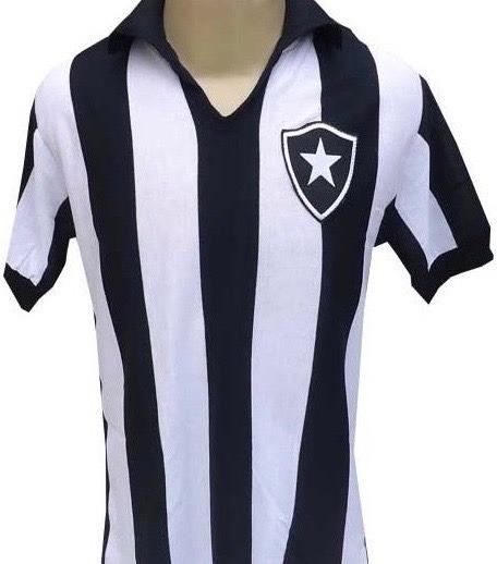 Camisa Retrô Botafogo 1957-1961- P R O N T A . E N T R E G A - R ... d6739d9058863