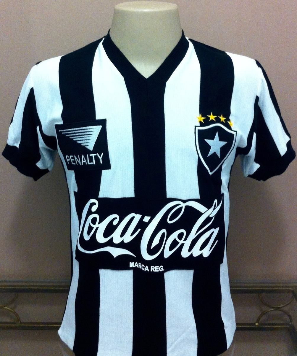 3be186a781f46 camisa retrô botafogo 1989 penalty - pronta entrega ! Carregando zoom.