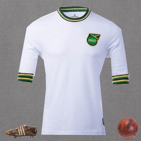 9213e46fa2 Camisa Retrô Branca Jamaica - R  99