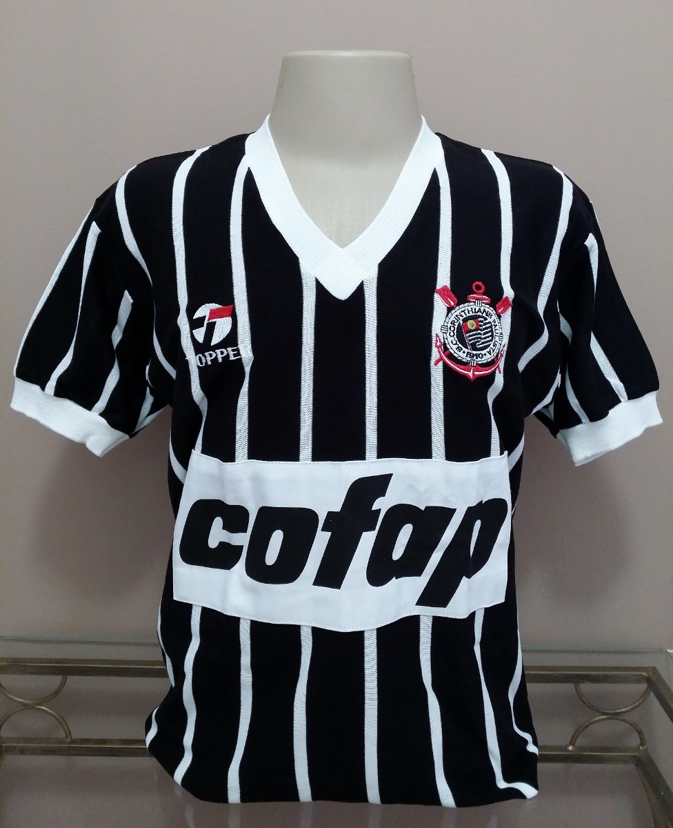 04406394b785e camisa retrô corinthians 1983 - cofap - s a l d ã o ! ! ! Carregando zoom.