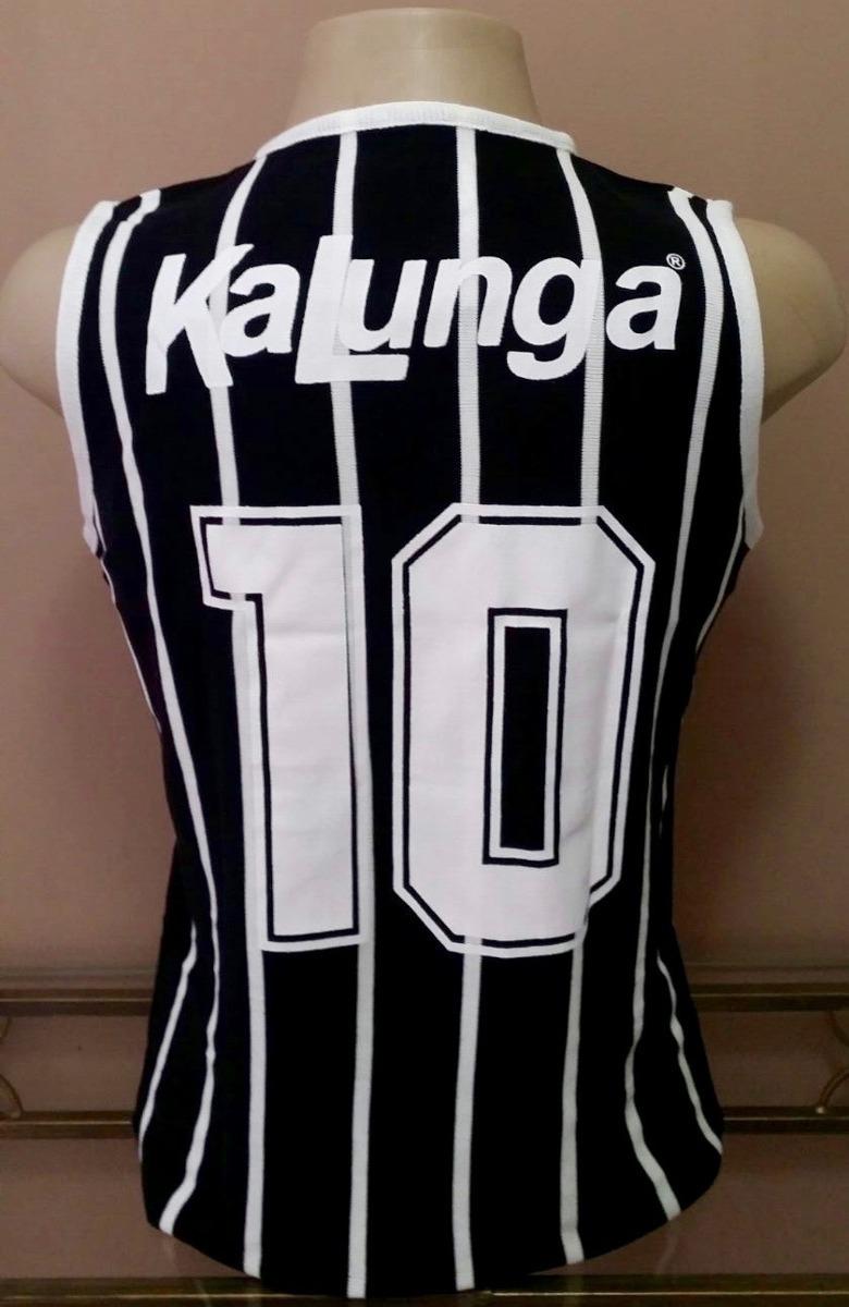 camisa retrô corinthians 1988 kalunga regata- pronta entrega. Carregando  zoom. 9546072406624