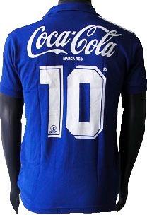 Camisa Retrô Cruzeiro 1990 Azul + Nome - R  159 8d4cfdd6adcb8