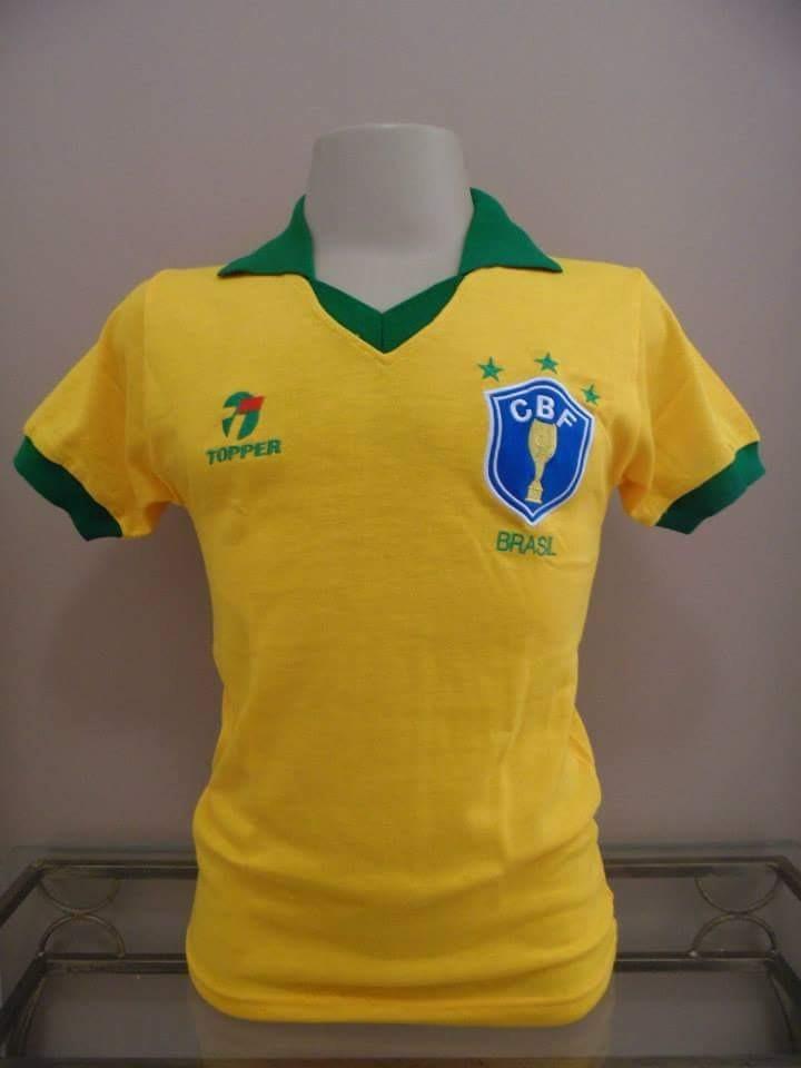 647eb620b5ff7 camisa retrô da seleção brasileira 1986. Carregando zoom.