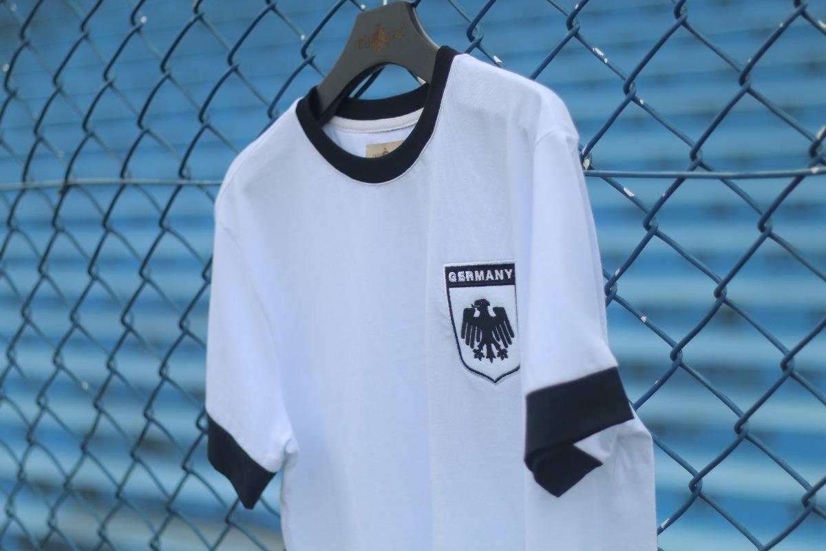 camisa retrô gol réplica seleção alemanha 1974 torcedor. Carregando zoom. e0a5682bef211