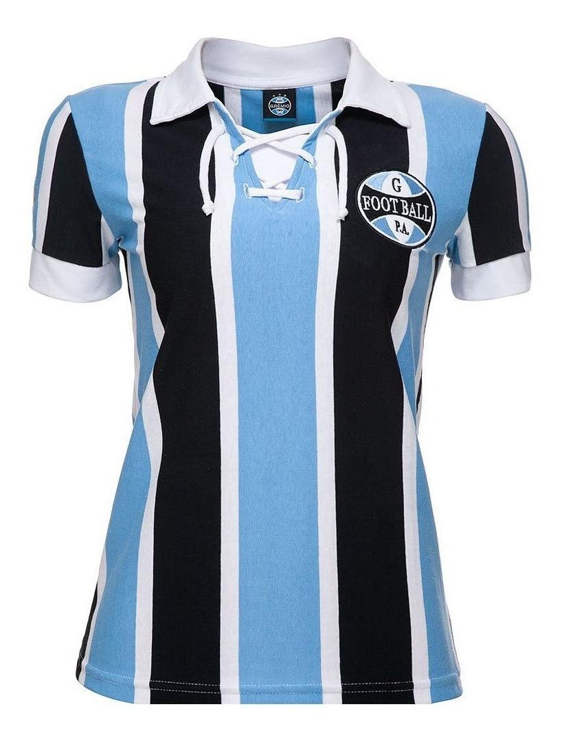 706f81e3e3 Camisa Retrô Grêmio 1930 Feminina Oficial - R$ 149,90 em Mercado Livre
