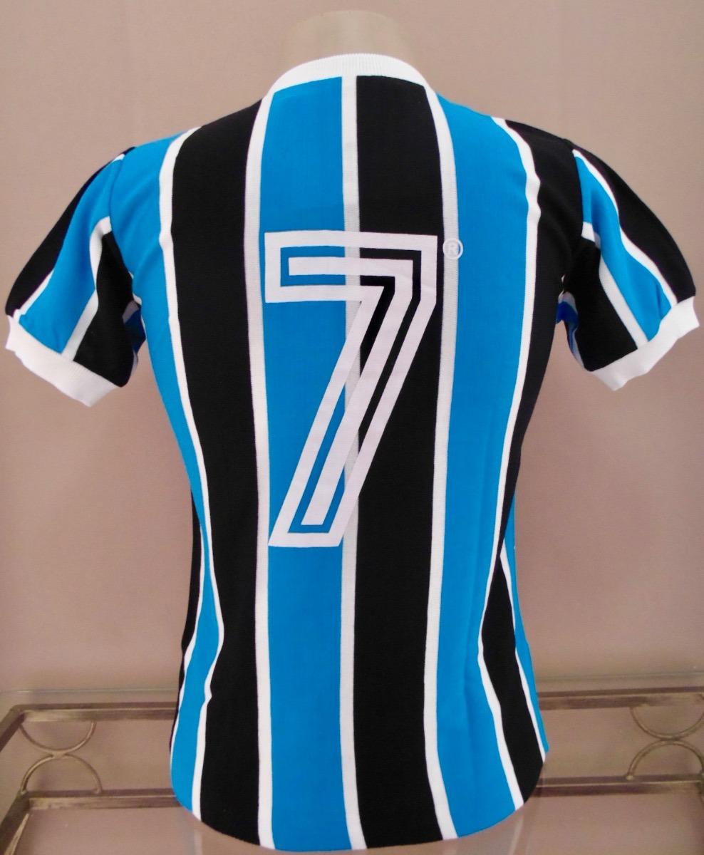 camisa retrô grêmio 1983 azul celeste - manto sagrado retrô. Carregando zoom . 130ce8ed7891e
