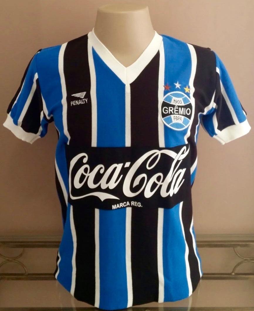 Camisa Retrô Grêmio 1988 - Manto Sagrado Retrô - R  108 60b62fb740d14