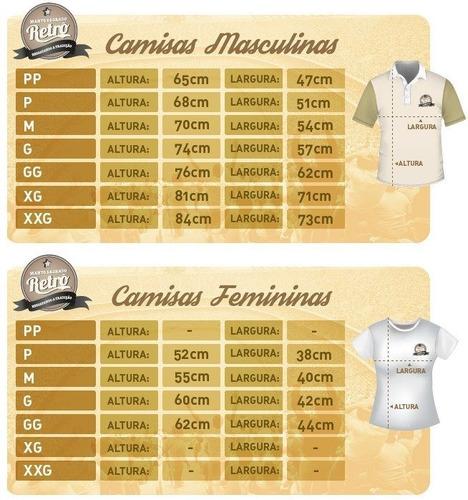camisa retrô internacional 1980 - bordada - 100% algodão !