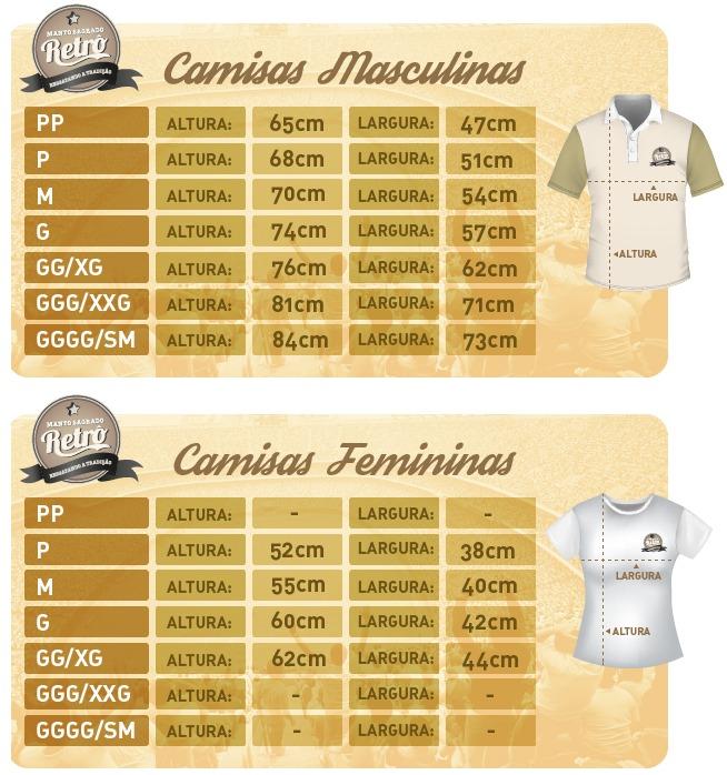 6b77caf5a8dc6 Camisa Retrô Palmeiras 100 Anos - Manto Sagrado Retrô - R  88