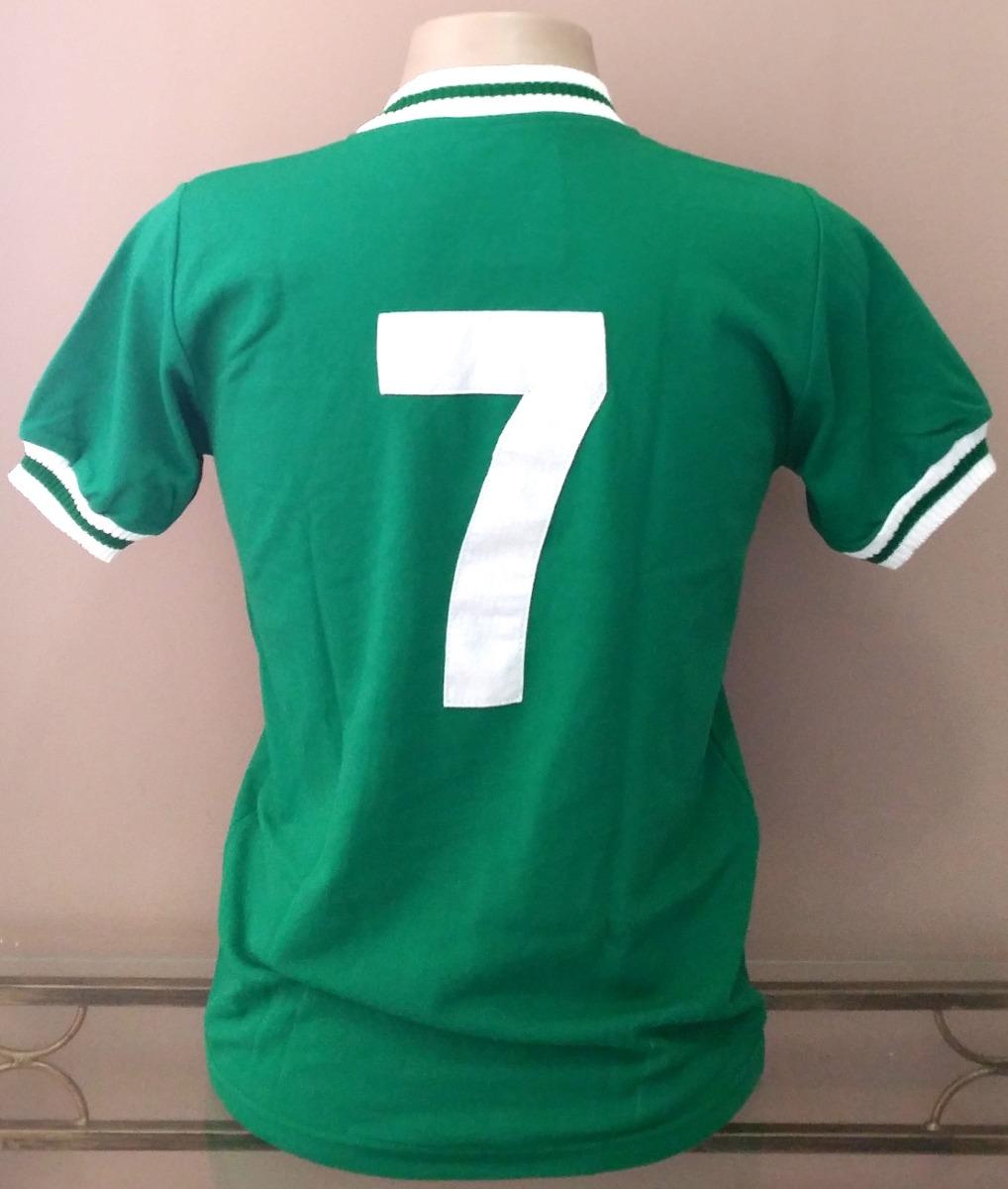 Camisa Retrô Palmeiras 1973-1976 - Manto Sagrado Retrô - R  88 48c62d58bdbd5