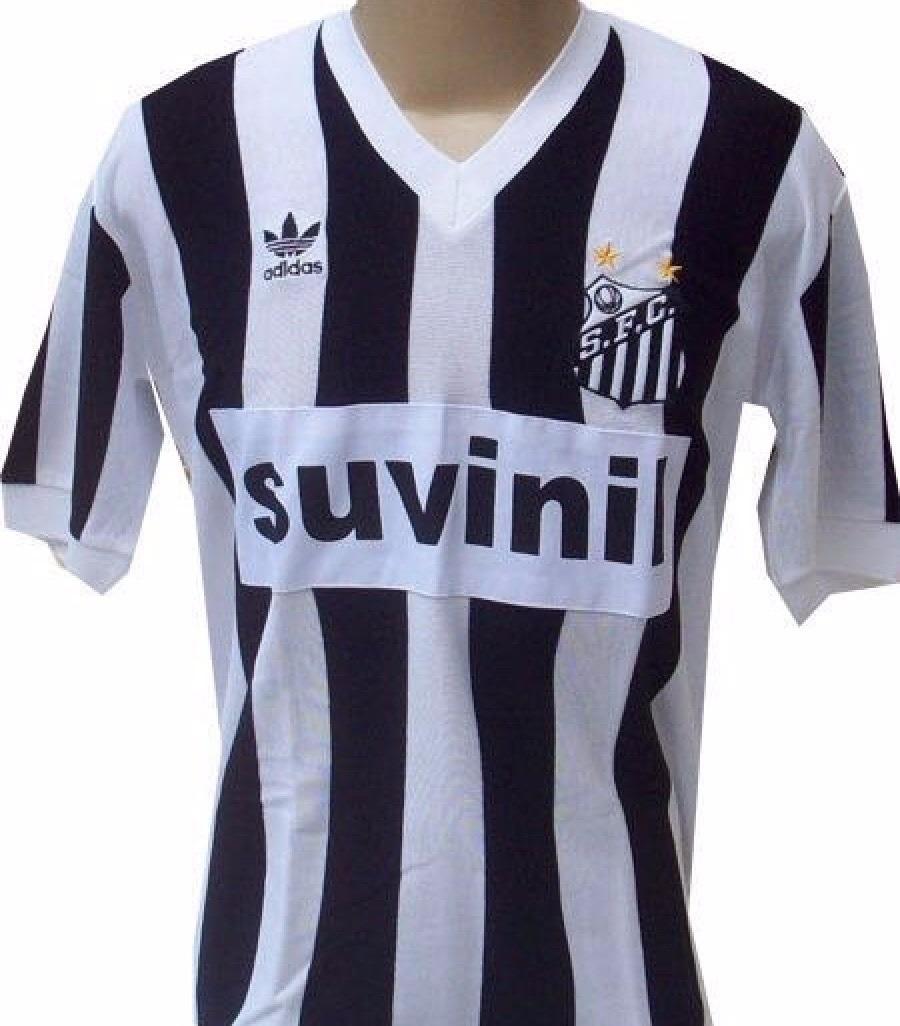 79215022d5 camisa retrô santos 1987-1988 suvinil - frete grátis. Carregando zoom.