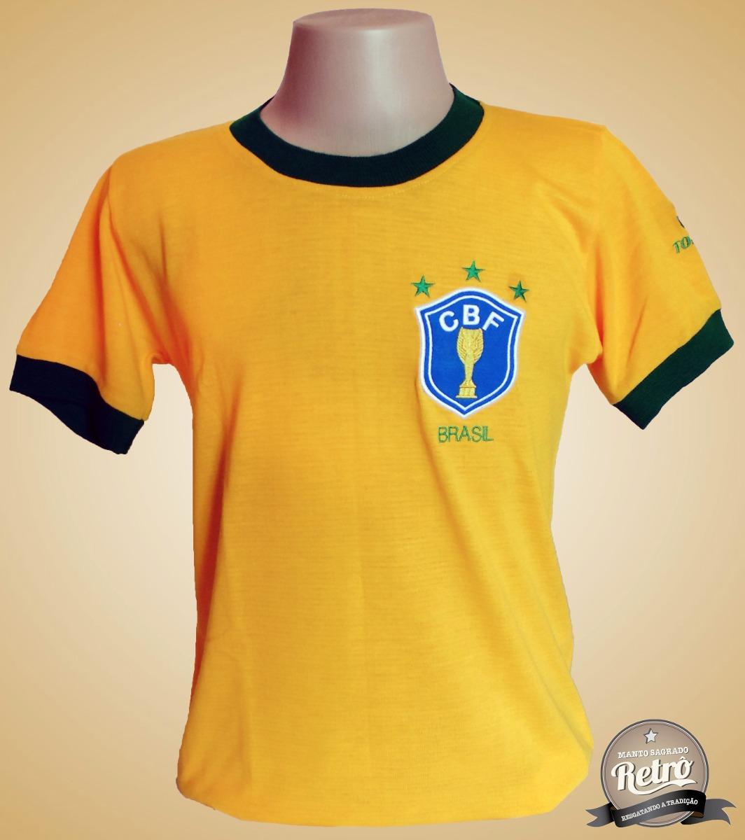 camisa retrô seleção brasileira brasil 1982 - s a l d ã o ! Carregando zoom. 1a6d2786bd46d