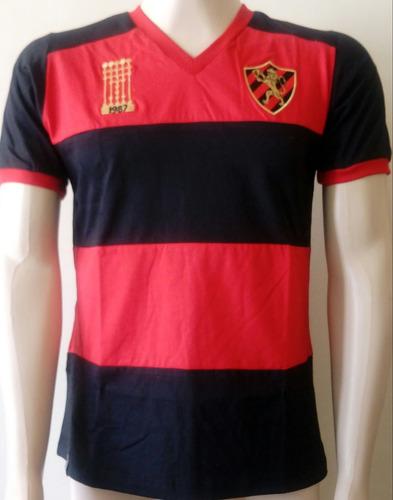 camisa retrô - sport recife - comemorativa campeão 1987